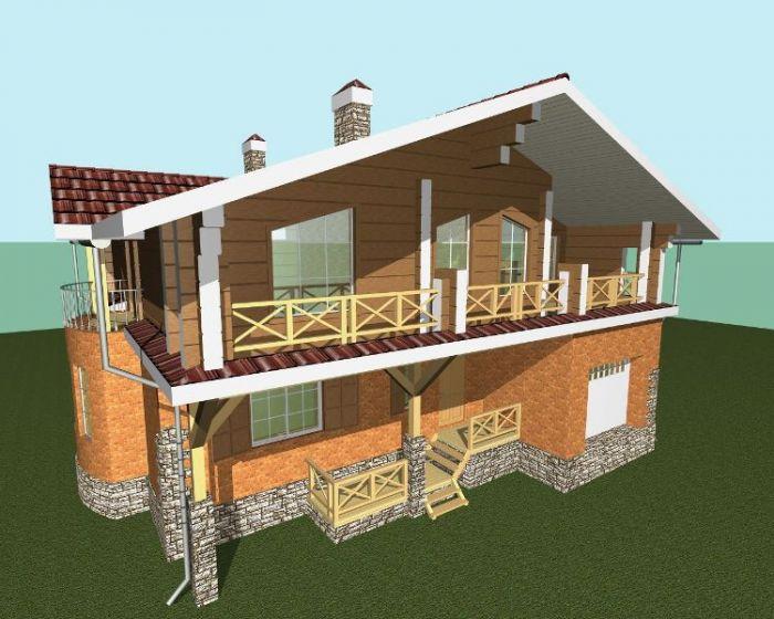 3d архитектурная визуализация домов