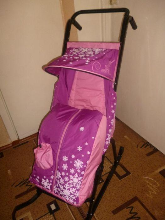 детский мир кемерово санки коляска